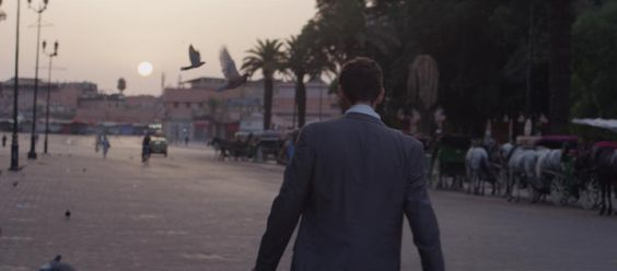 Mark Polish in the movie Headlock.