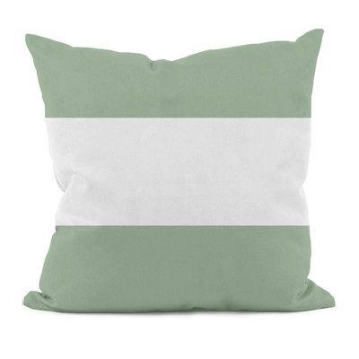 e by design Big Stripe Horizontal Decorative Throw Pillow