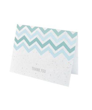 Plantable Paper Notecards: Notecards I M, Paper Notecards, Chevron Pattern, Cool Ideas, Plantable Notecards, Note Cards, Greeting Card, Paper Cards, Wildflower Seeds