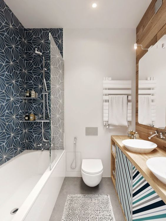 51 Gorgeous Small Bathroom Remodel Design Ideas Gorgeousbathroomdesigns Ide Kamar Mandi Desain Kamar Mandi Modern Rumah