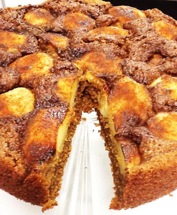 cupcakedavila: bolo de maçã integral