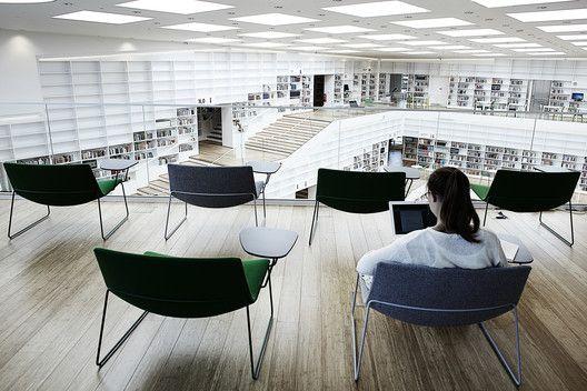 Biblioteca y mediateca Dalarna,© Kaare Viemose