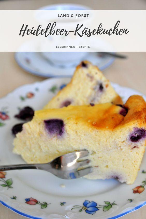 Kasekuchen Mit Heidelbeeren Kuchen Und Torten Kuchen Kuchen Einfrieren