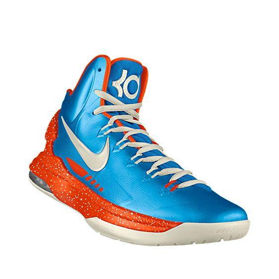 Custom Nike Zoom KD V iD Men\u0026#39;s Basketball Shoe