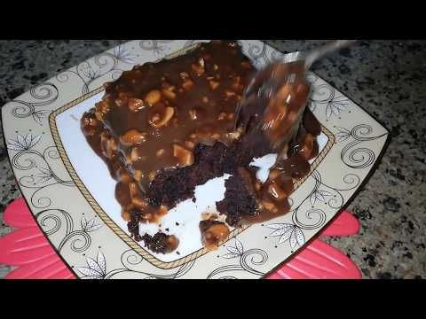 كيك الشوكولاتة الفاخر المغطي بصوص الشوكولاتة بالفول السوداني وهمية لعشاق الشوكولاتة لازم تجربيها Youtube Food Yummy Food Desserts