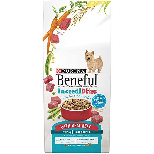 Purina Beneful Incredibites With Real Beef Dry Dog Food 3 5 Lb