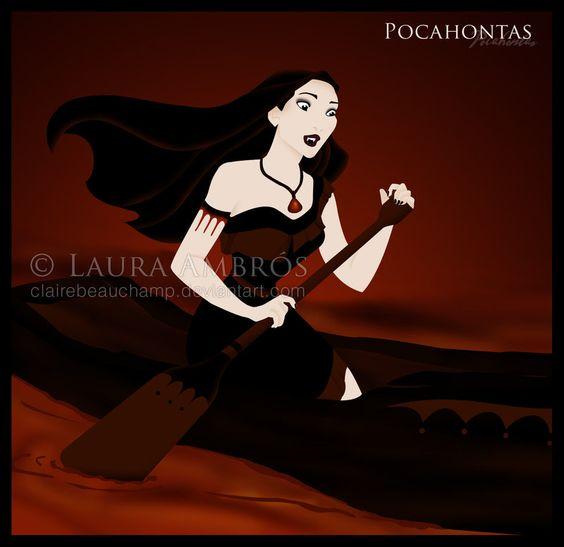Pocahontas by ~ClaireBeauchamp on deviantART