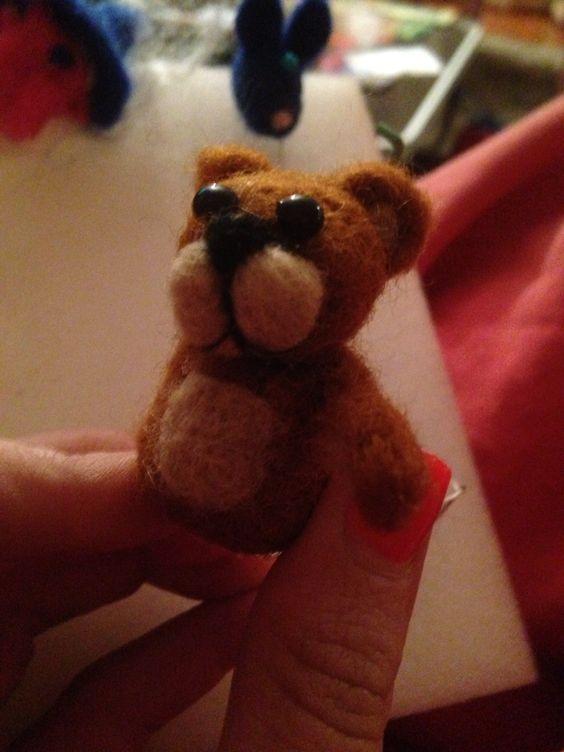Miniature bear non complete