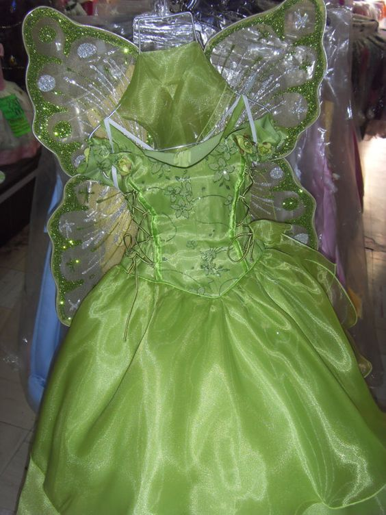 Tinkerbell Campanita fairy dress Disney  by miguelzottoyahoocom