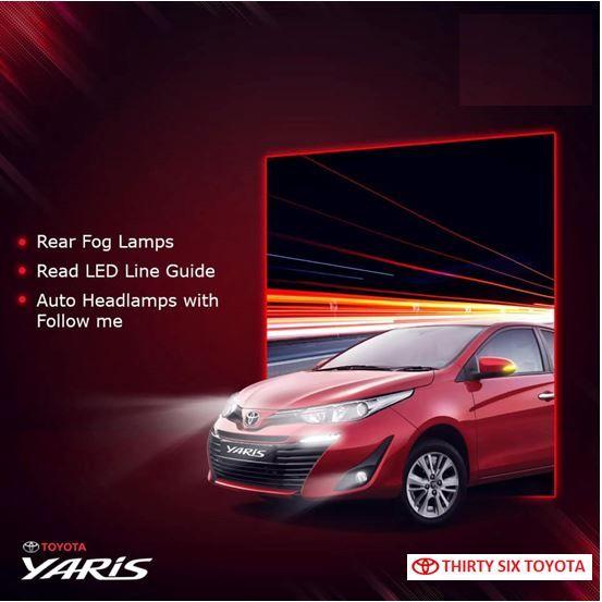 Toyota Yaris Fog Lamps Yaris Toyota Toyota Dealers