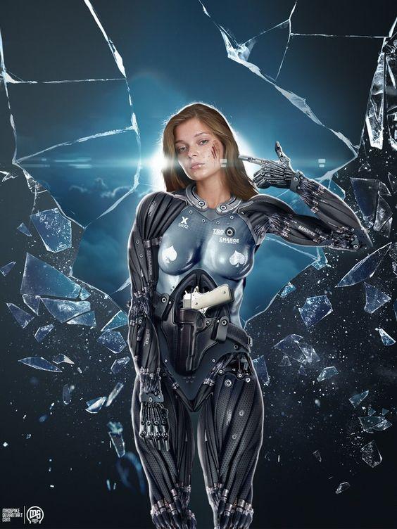 futuristic women females - photo #41