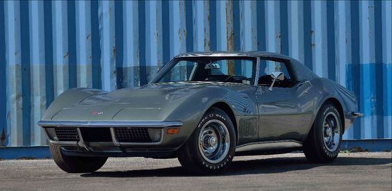 1971 CHEVROLET CORVETTE LS6 COUPE, 454/425 HP, 4-Speed, LOT S108 at the Mecum Auction, Kissimmee, Florida January 6-15, 2017