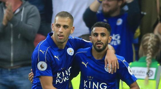New Leicester goals hero Islam Slimani wins Danny Simpson approval
