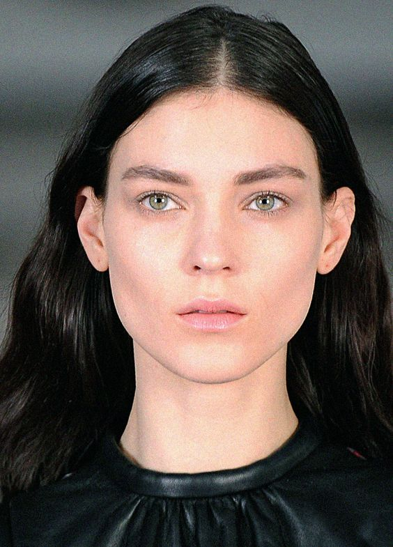Kati Nescher at Christopher Kane, Fall 2012