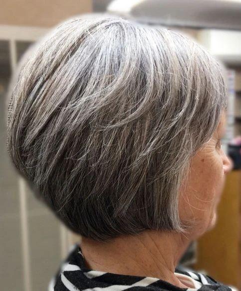 Gray Wigs African Americans Gray Rinse Lavender Grey Wig Lavender Grey – wigsblonde