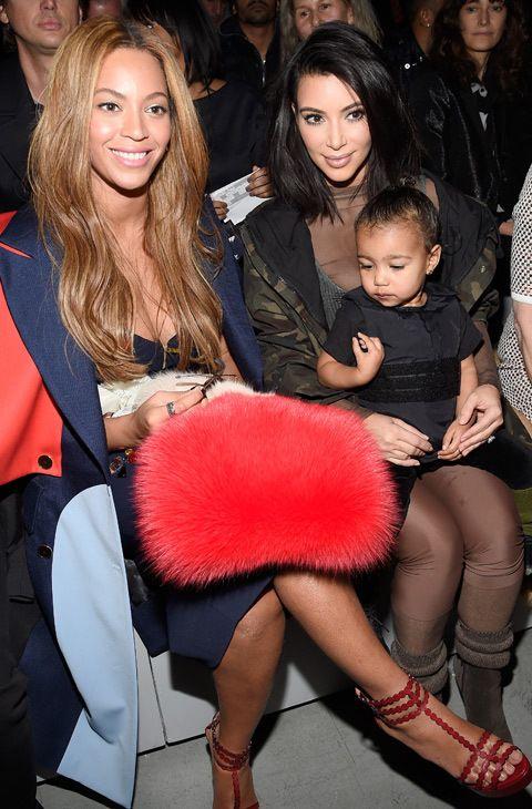 Beyoncé, Anna Wintour y, por supuesto, Kim Kardashian no quisieron perderse la puesta de largo de las propuestas que Kanye West ha diseñado para Adidas.
