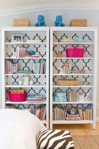 Idea for LR - Identical bookshelves pushed together