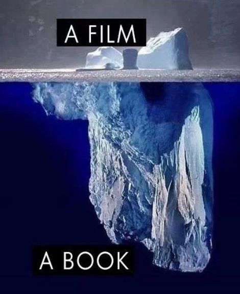 I couldn't have said it better: Book vs. Movie: