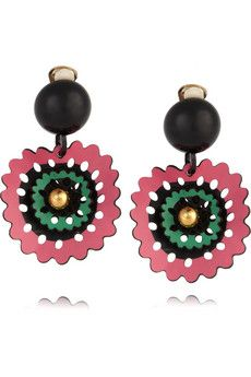 marni clip-on earrings: for wusses like me who can't have pierced ears <3