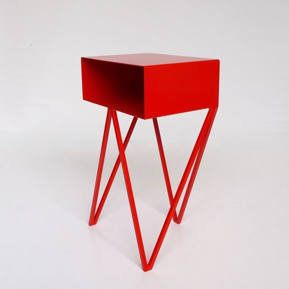 &new Mini Robot Side Table-Red | &new-mini-robot-Red | £310.00