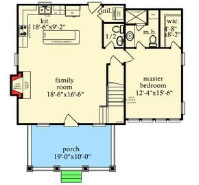 Plan 9746al Cute Cottage With Bunk Room Cottage Floor Plans Tiny House Floor Plans House Plans