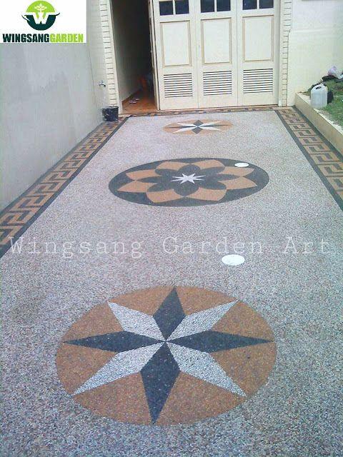 Tukang Carport Madura Jasa Desain Pembuatan Lantai Carport Madura Wingsang Garden Wingsang Garden Art Contemporary Garden Art In 2020 Modern Tiles Carport Batu