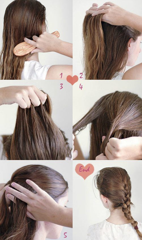 30 French Braids Hairstyles Step By Step How To French Braid Your Own French Braids Hairstyles Step By Step H Easy Hairstyles Long Hair Styles Diy Hairstyles