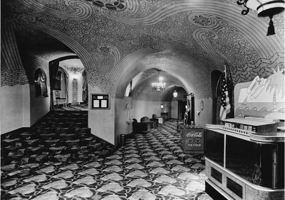 hollywood theater, spanish colonial