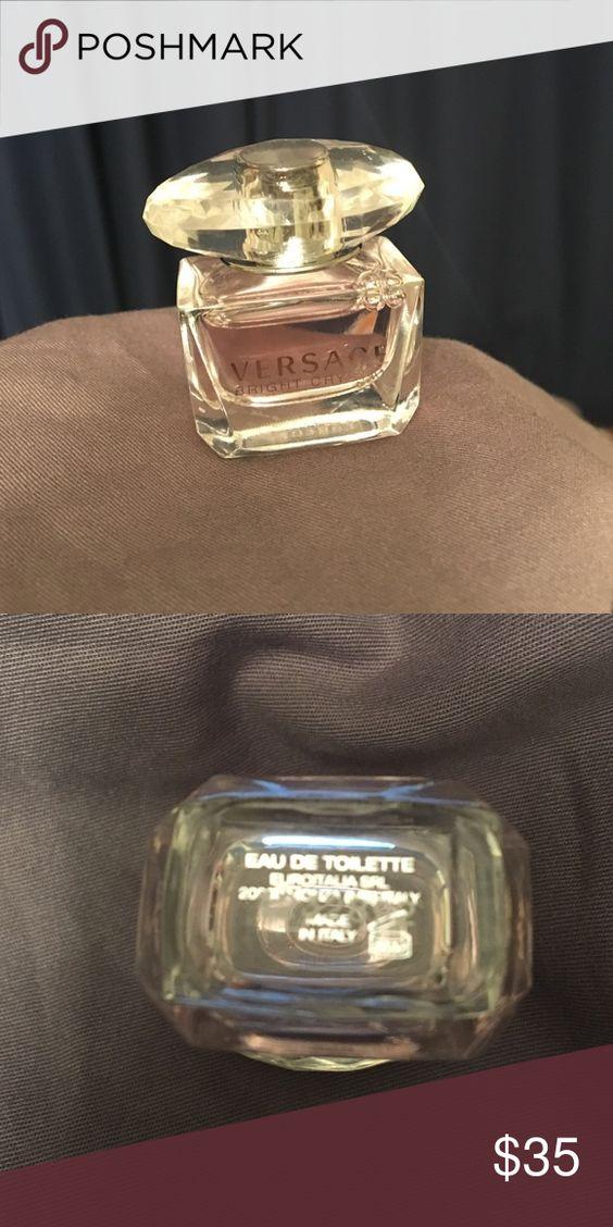 Versace Bright Crystal Eau De Toilette .17oz New! (without box), 100% authentic, Women's EDT Toilette, .17oz bottle, perfect for travel or a night out Versace Makeup
