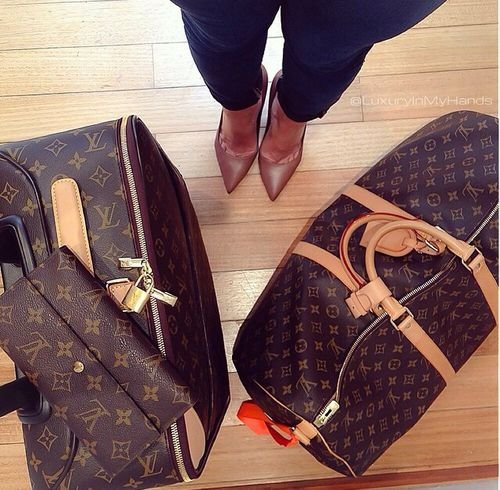 LV x Travel | Classic LV Luggage Set...My absolute FAVE gift, NEVER goes out of style! ♡♡♡♡♡♡♡