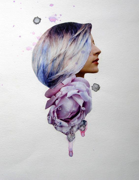 Collage by D Iris Sigmundsottir