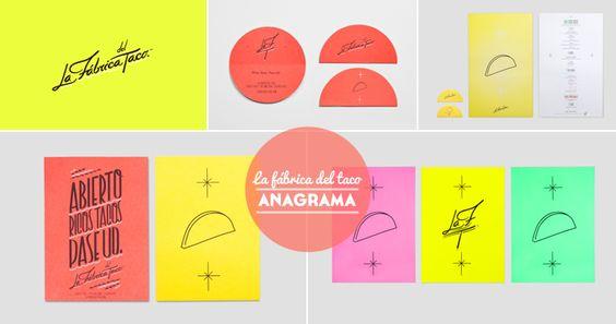 la fabrica del taco - estudio Anagrama