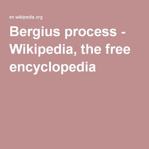 Bergius process - Wikipedia, the free encyclopedia