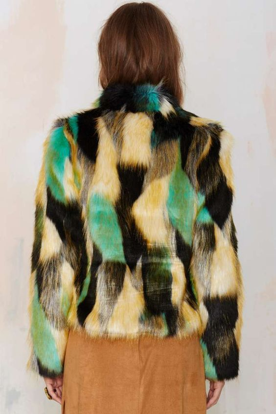 Heating Up Faux Fur Jacket - I'm With the Band | I'm With the Band | Faux Fur
