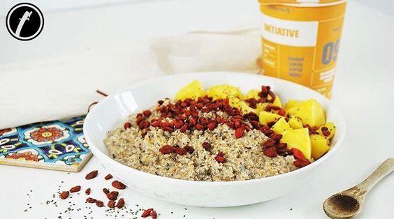 #FitmealsFact Die im InItiative enthaltenen Mangos sorgen für mehr Energie einen besseren Appetit eine gute Verdauung helfen gegen Durst und Verstopfung und sorgen für ein besseres Gedächtnis.