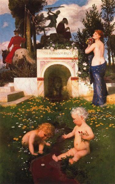 Arnold Bocklin - Vita Somnium Breve