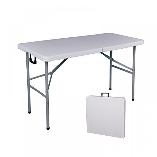 Bestoffice Folding Table 4 Portable Plastic Indoor Outdoor Picnic Party Dining Camp Tables