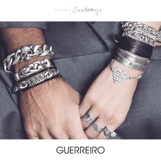 Celebre o jeito GUERREIRO de ser. Conheça toda coleção Customize: http://ow.ly/BYL5D