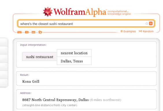 Wolphram Alpha Gets Into Local Search — Very Badly