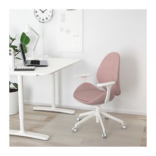 Enjoyable Hattefjall Office Chair With Armrests Gunnared Beige Ncnpc Chair Design For Home Ncnpcorg