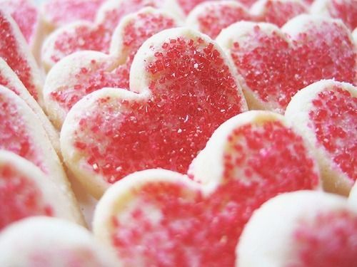 Image result for heart sprinkle cookie