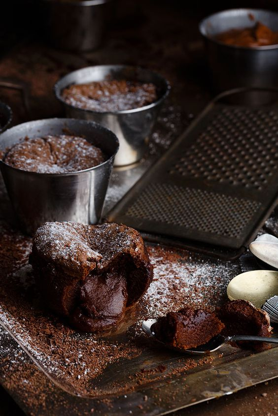 Coulant de chocolate by Raquel Carmona: