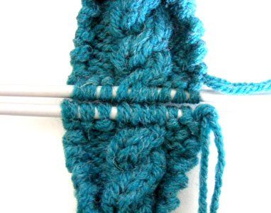 Tutorial on Grafting Cables - Kitchener Stitch - from La Belle Helene ** Kn...