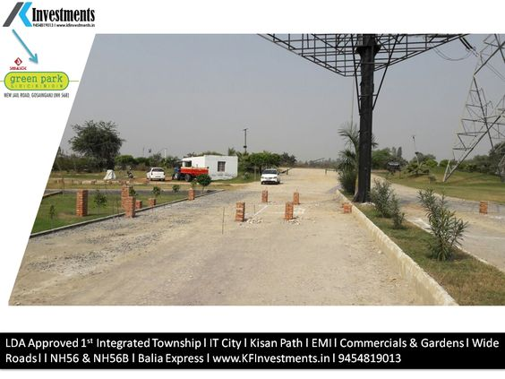 Plots in Lucknow on EMI Basis New Jail Road