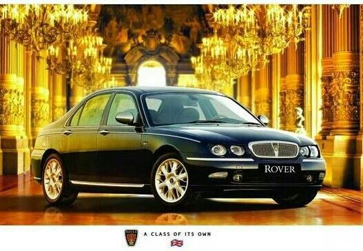 Rover 75 advert.