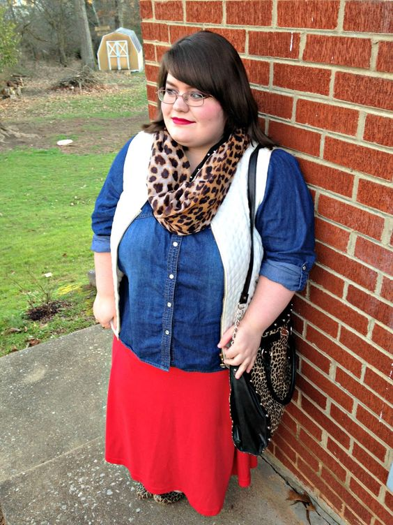 Unique Geek: Plus Size OOTD: Texture Mixing: