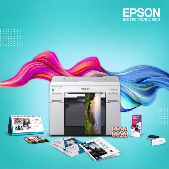 Print More Than Pictures With Epson Photolab Printers Panoramic Print Printing Business Tent Cards