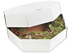 Wreath Box, Wreath Boxes in Stock - ULINE