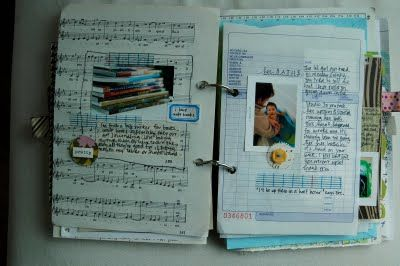 like the use of newpaper page and music sheet- I THINK I MIGHT TRY N DO THIS...