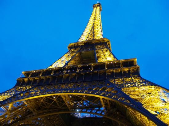 Eiffel tower is one of my favorite places i have ever been